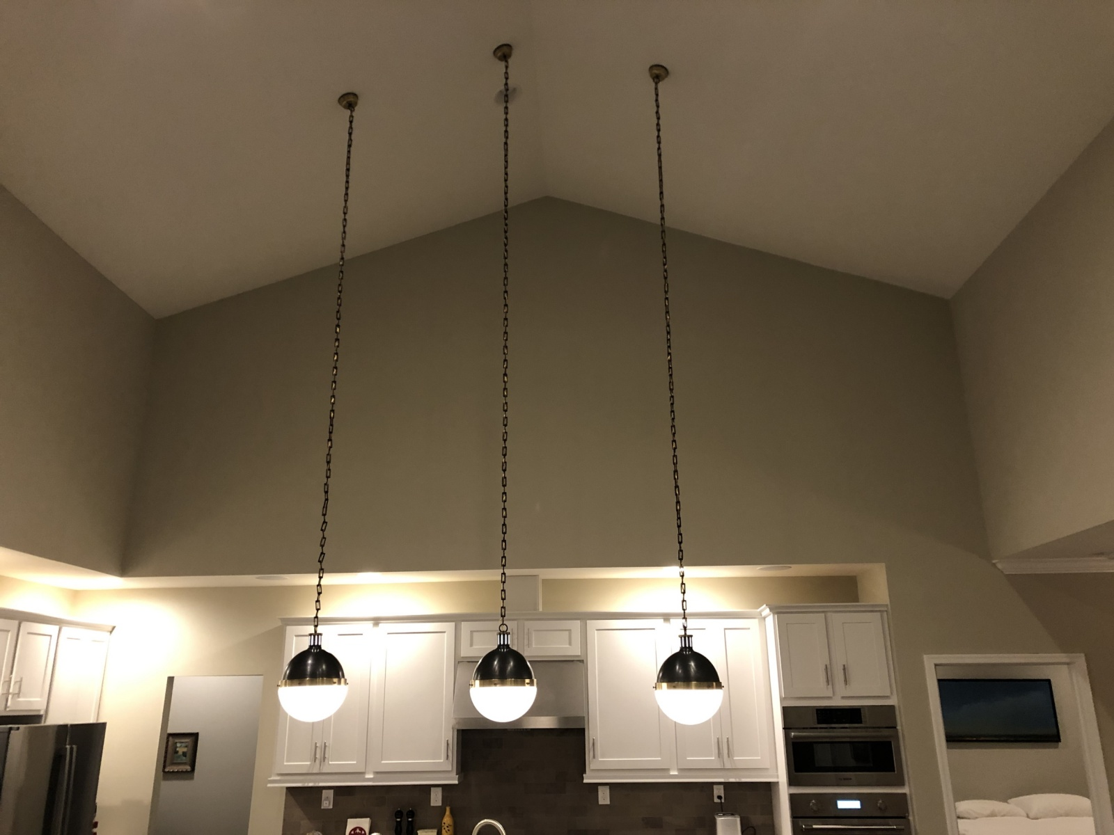 New-light-fixture-install