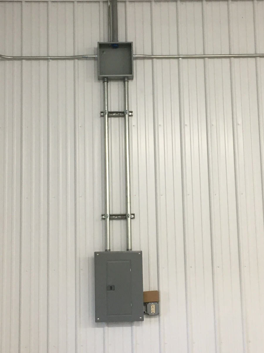 Sub-panel-install